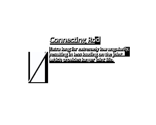 Connecting Rod - Sydex Pump