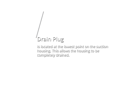 Drain Plug - Sydex Pump